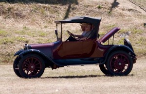 Old car in the grand parade